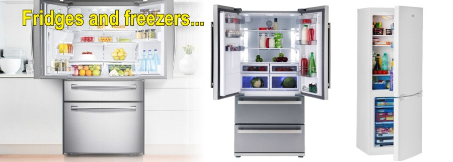 Range of fridges, freezers & fridge-freezers; both stand-alone & built-in available from Ben Sweeney Electrical, Letterkenny & Dungloe, County Donegal, Ireland