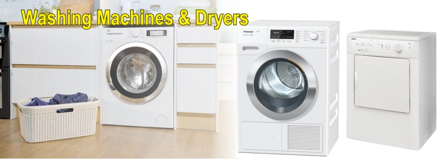 The latest washing machines & dryers available from Ben Sweeney Gas & Electrical Appliances, Co. Donegal.
